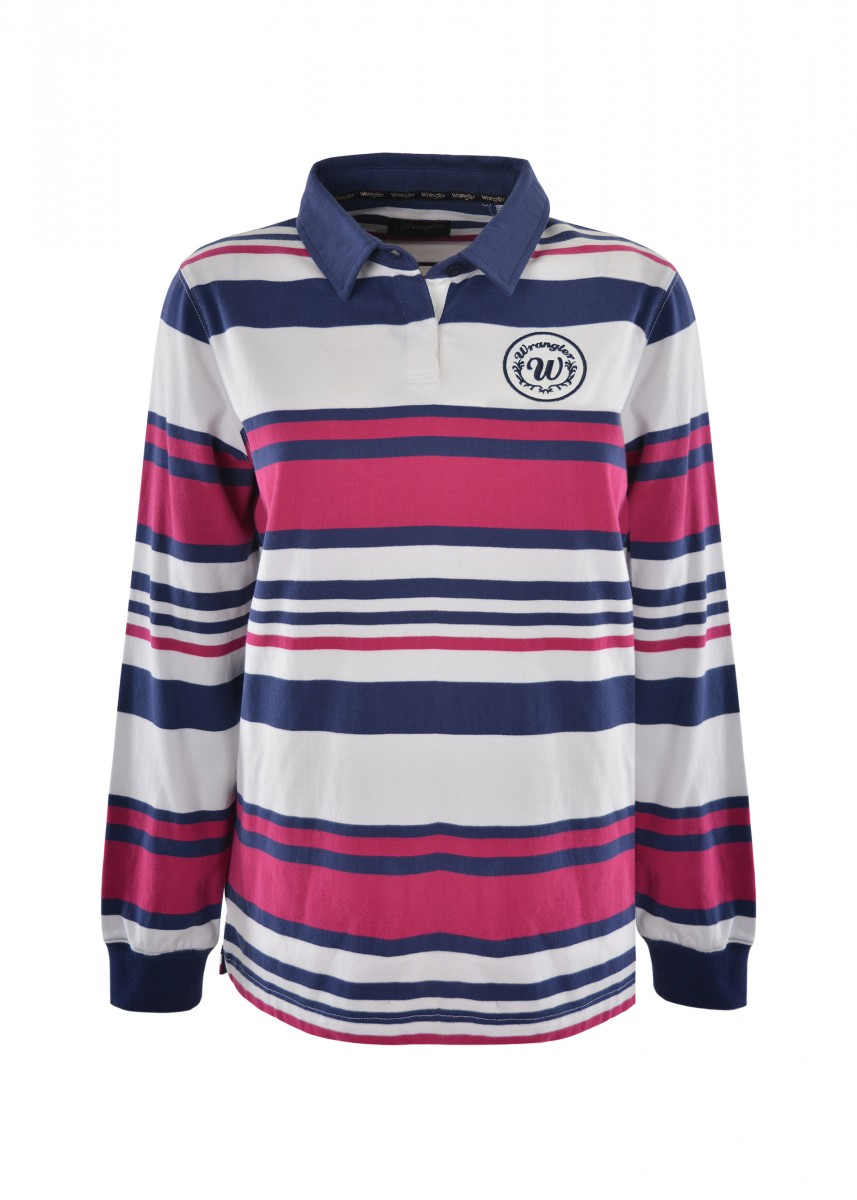 WOMENS KOURTNEY L/S RUGBY
