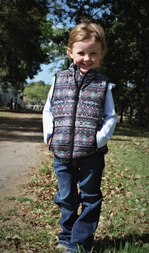GIRLS JACKIE QUILTED VEST