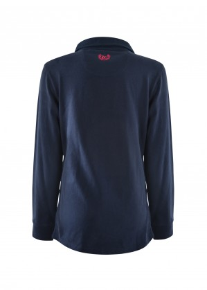 WOMENS CLAUDIA PANELLED L/S RUGBY