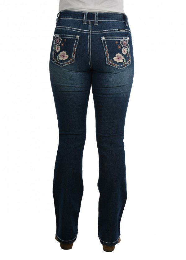 WOMENS BRIDGET BOOT CUT JEAN - 32 LEG