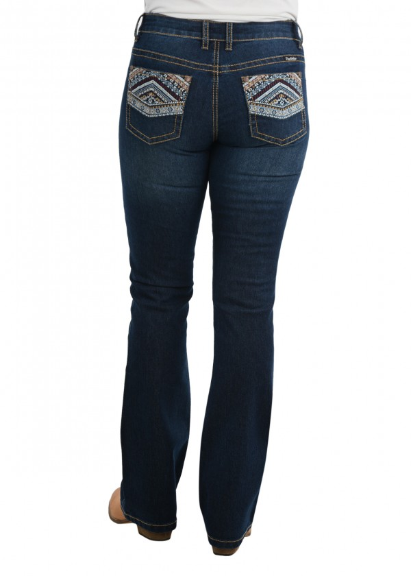 WOMENS MARTINA BOOT CUT JEAN - 32 LEG