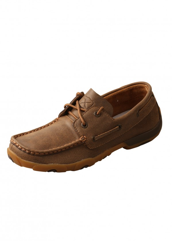WOMENS CASUAL DRIVING MOCS LOW LACE UP