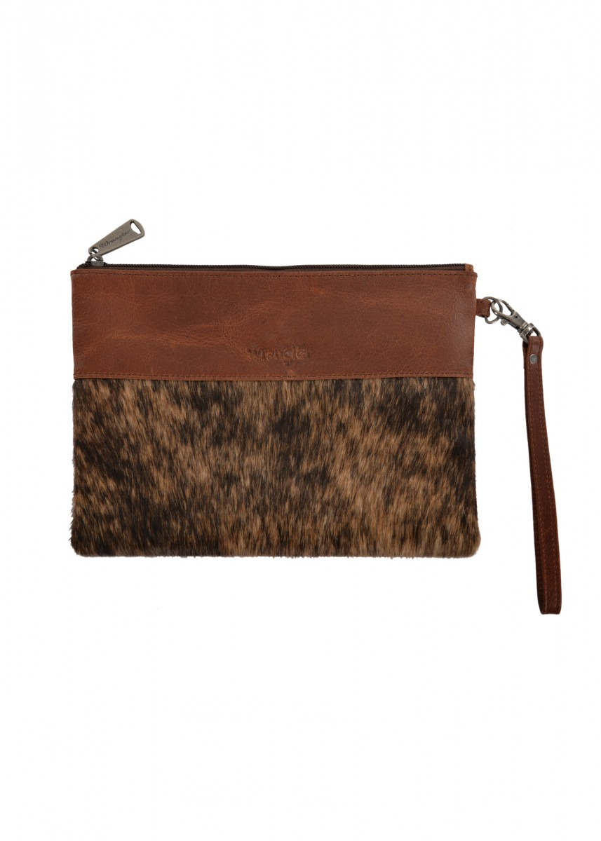 WOMENS COWHIDE CLUTCH