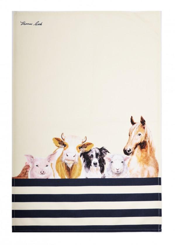 FARM FRIENDS TEA TOWEL 2-PACK