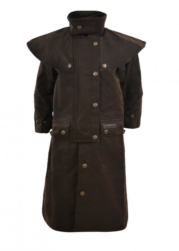 KIDS HIGH COUNTRY OILSKIN LONG COAT