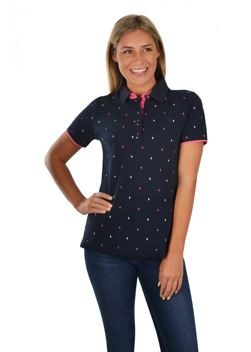 WOMENS LUCY S/S POLO