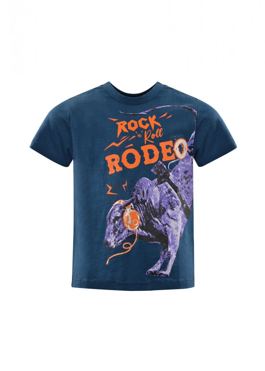 BOYS ROCK N RODEO S/S TEE