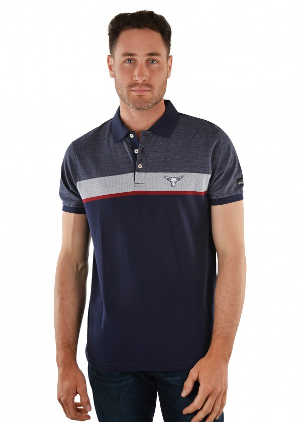 MENS PETERSON S/S POLO