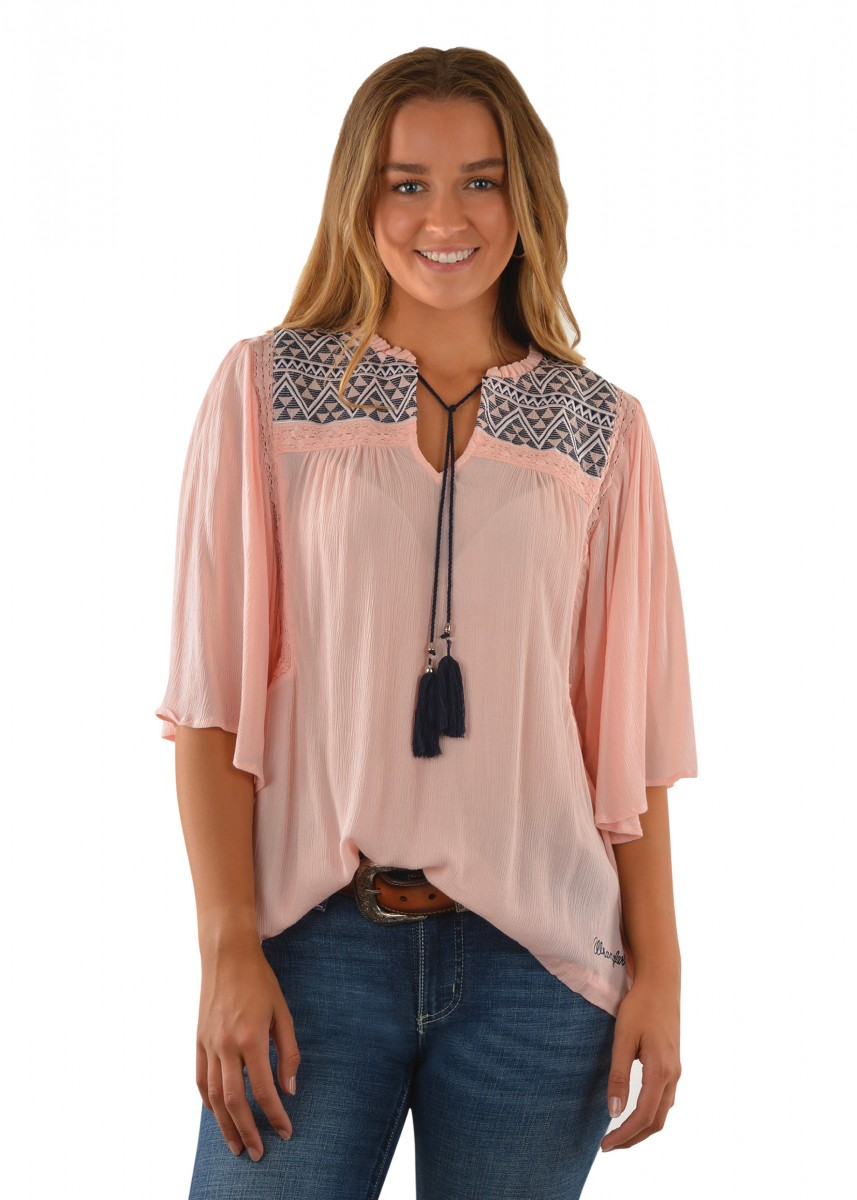 WOMENS MITZY BLOUSE