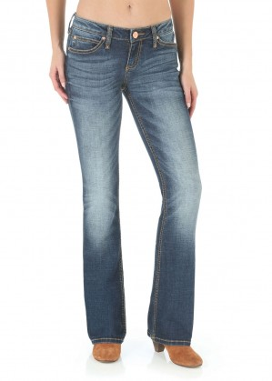 WOMENS P/PATCH SITS ABOVE HIP JEAN 34 LEG - MAE