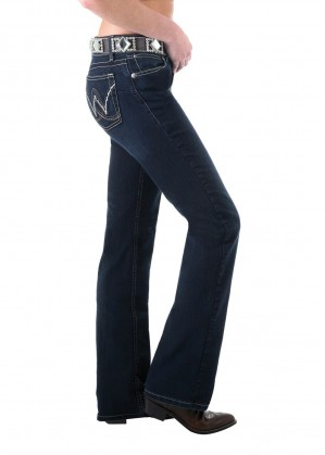 WOMENS P/PATCH BOOTY UP SITS ABOVE HIP JEAN