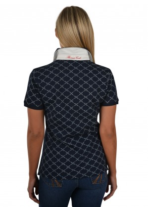 WOMENS ROBYN S/S POLO