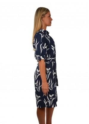WOMENS LISA 3/4 SLEEVE SHIRT DRESS
