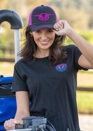 WOMENS BULLRING TRUCKER CAP