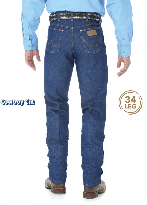 MENS COWBOY CUT ORIGINAL FIT JEAN 34 LEG