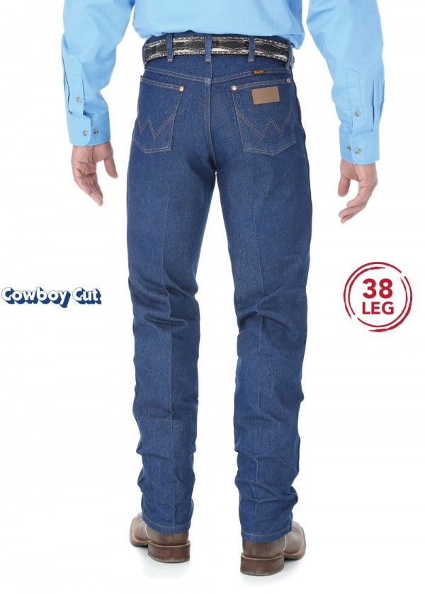MENS COWBOY CUT ORIGINAL FIT JEAN 38 LEG