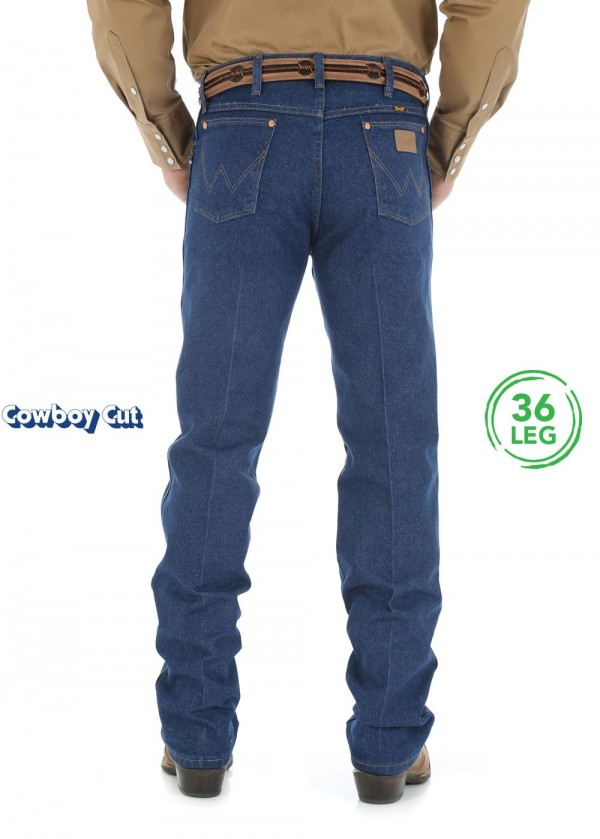 MENS COWBOY CUT ORIGINAL FIT JEAN 36 LEG