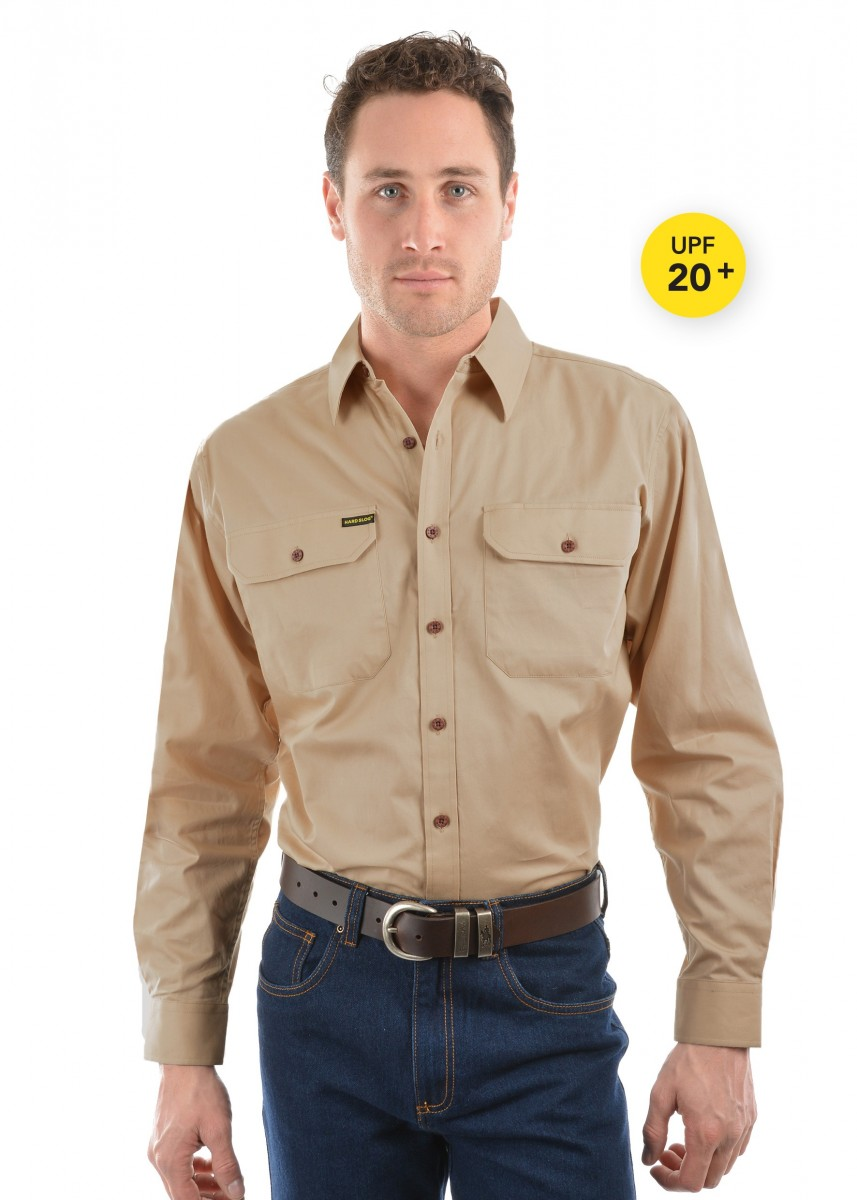 MENS FULL PLACKET LIGHT COTTON SHIRT