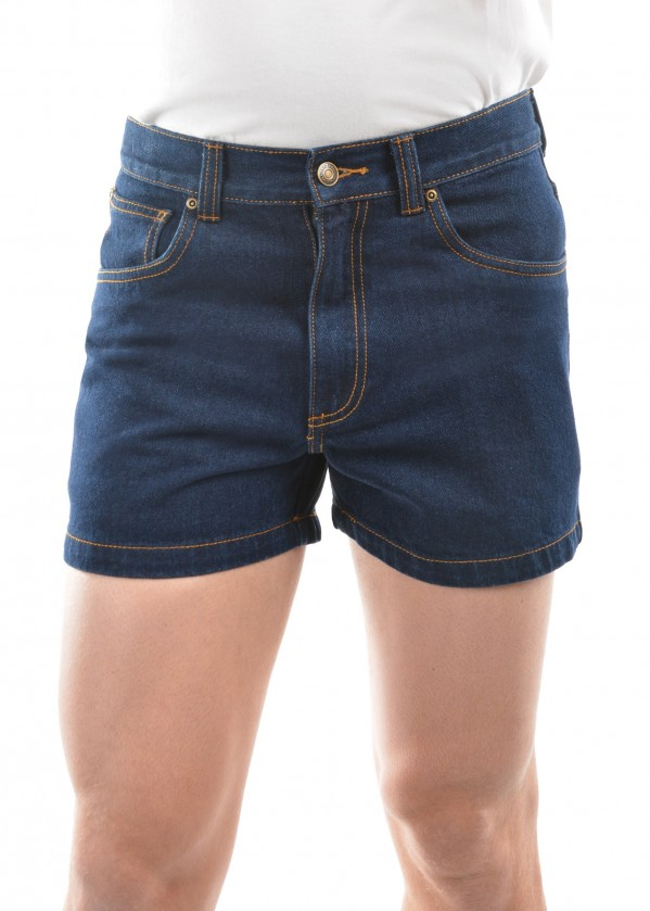 MENS DENIM SHORTS - NON STRETCH 4  INCH LEG