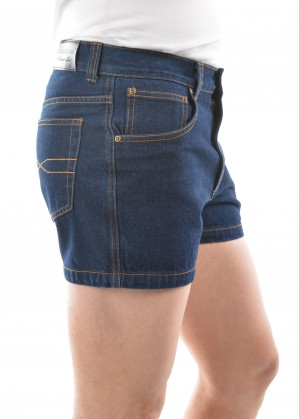 MENS DENIM SHORTS - NON STRETCH 4  INCH LEG