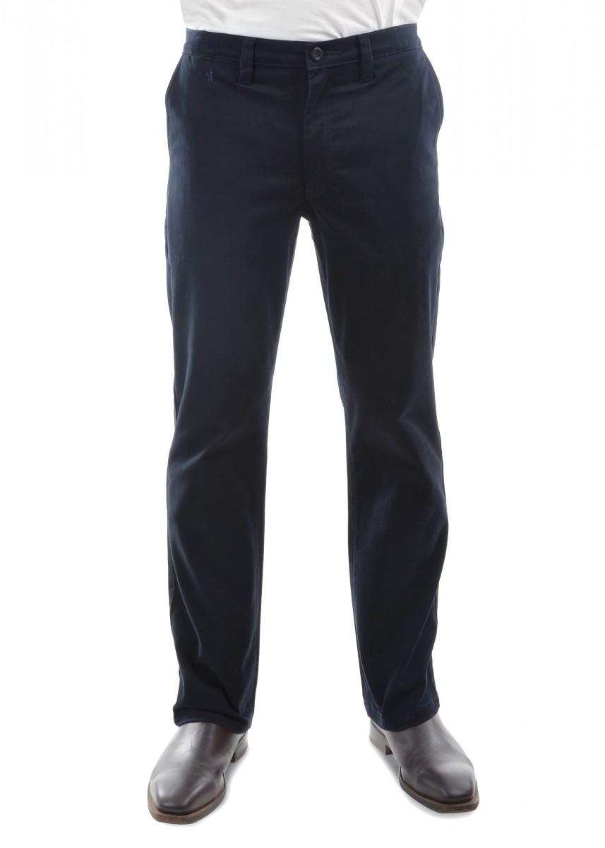 MENS MOLESKIN COMFORT WAIST TROUSERS 32 LEG