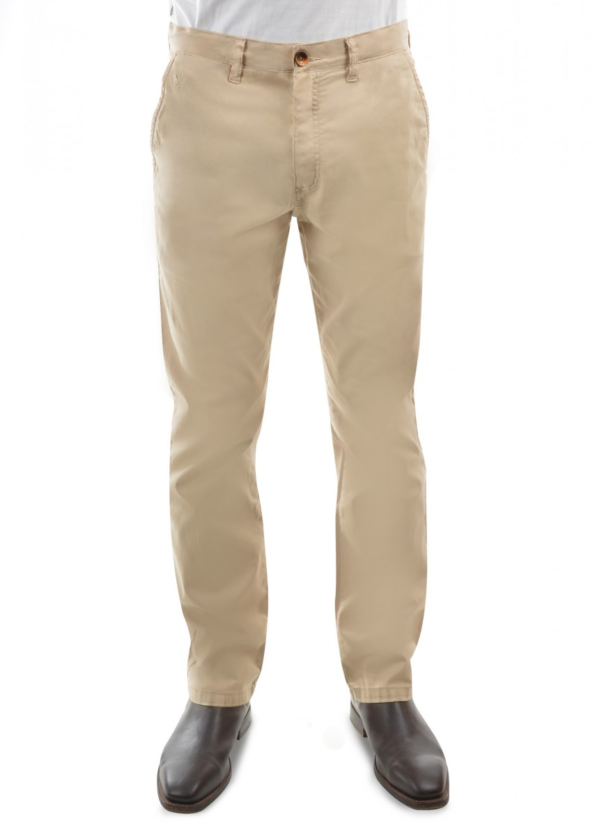 MENS TAILORED FIT MOSSMAN COMFORT WAIST TROUSERS 32 LEG