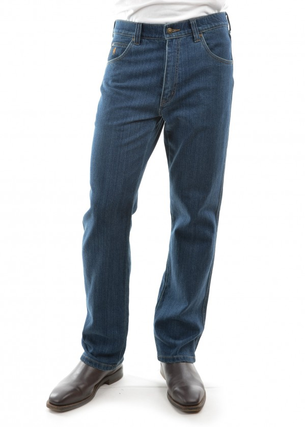 MENS STRETCH COMFORT WAIST JEAN MID-REG-STRAIGHT 34 LEG