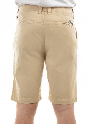 MENS TAILORED FIT MOSSMAN COMFORT WAIST SHORTS