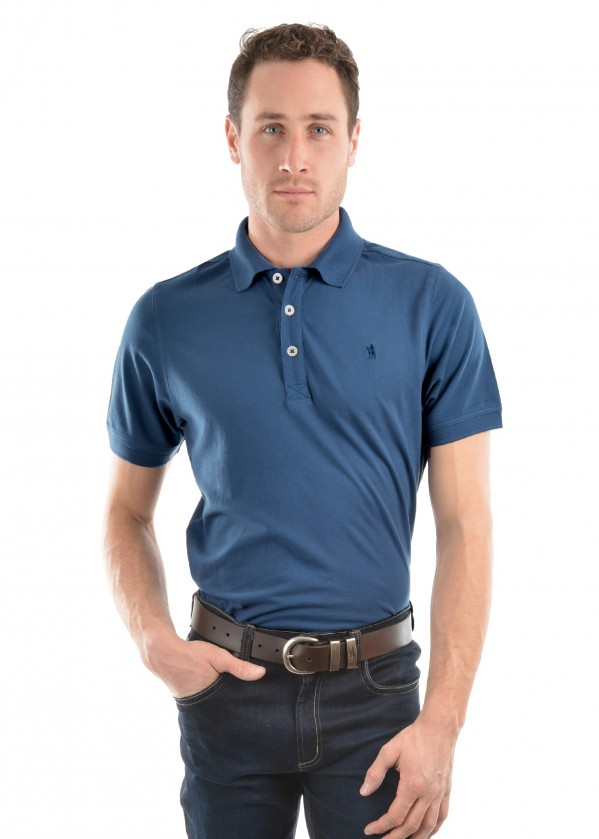 MENS TAILORED S/S POLO