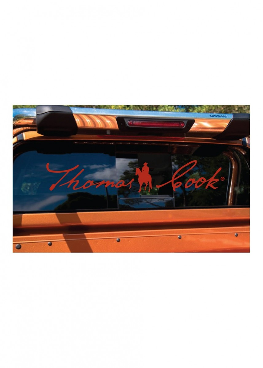 THOMAS COOK UTE STICKER