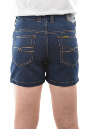 MENS STRETCH DENIM SHORT 4 INCH LEG