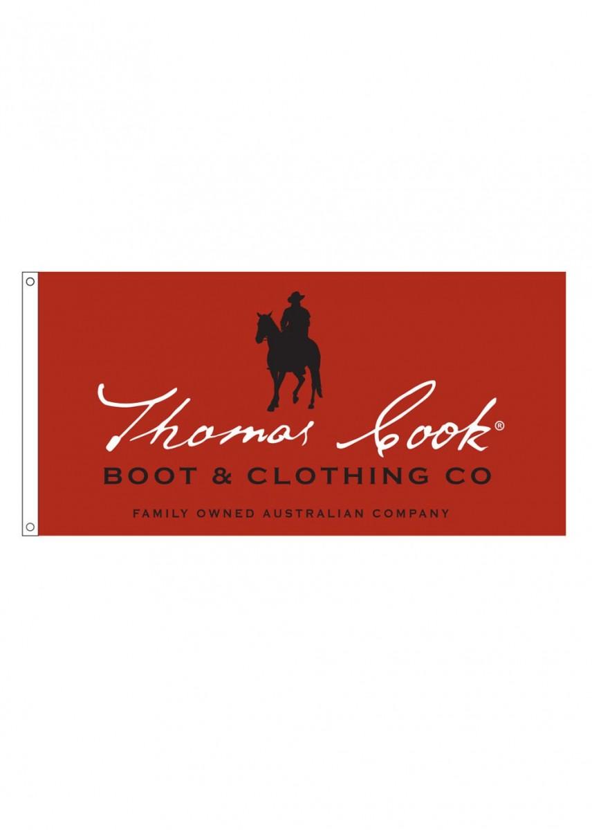 THOMAS COOK LOGO FLAG