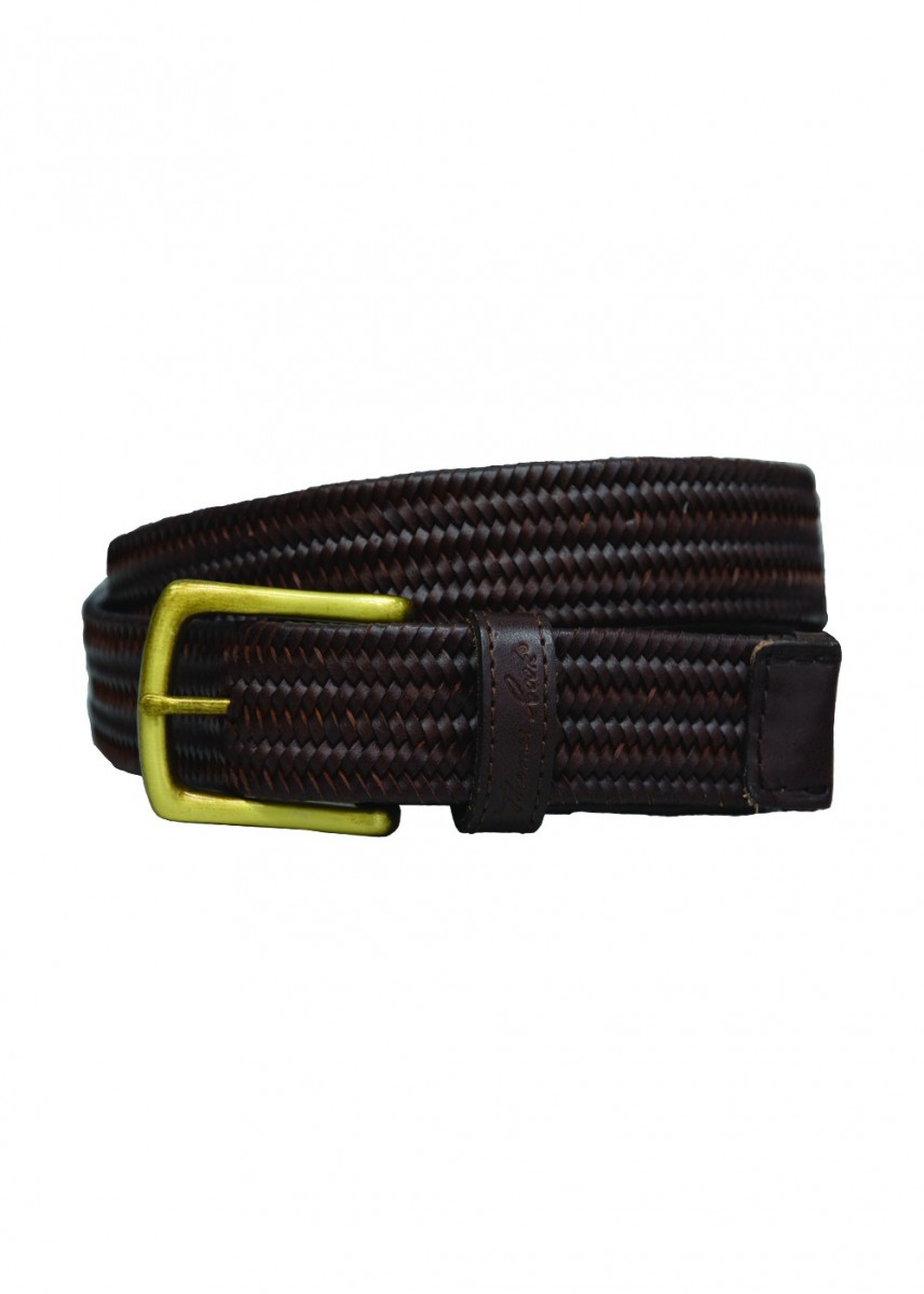 STRETCH LEATHER BELT