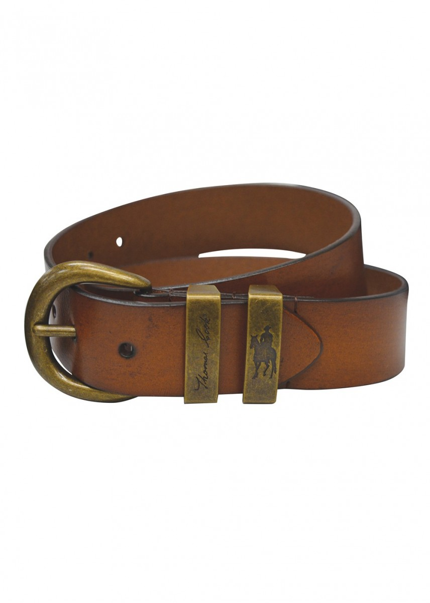 BRASS TWIN KEEPER BELT
