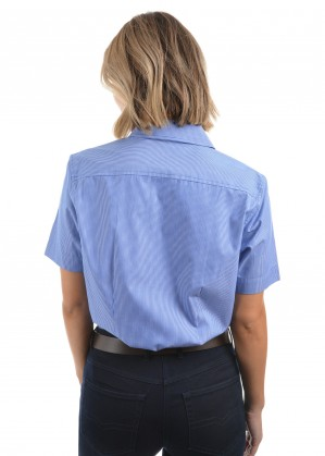 WOMENS GRAFTON STRIPE S/S SHIRT