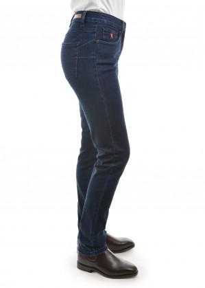 WOMENS WOOL DENIM SLIM LEG WONDER JEANS 32 LEG