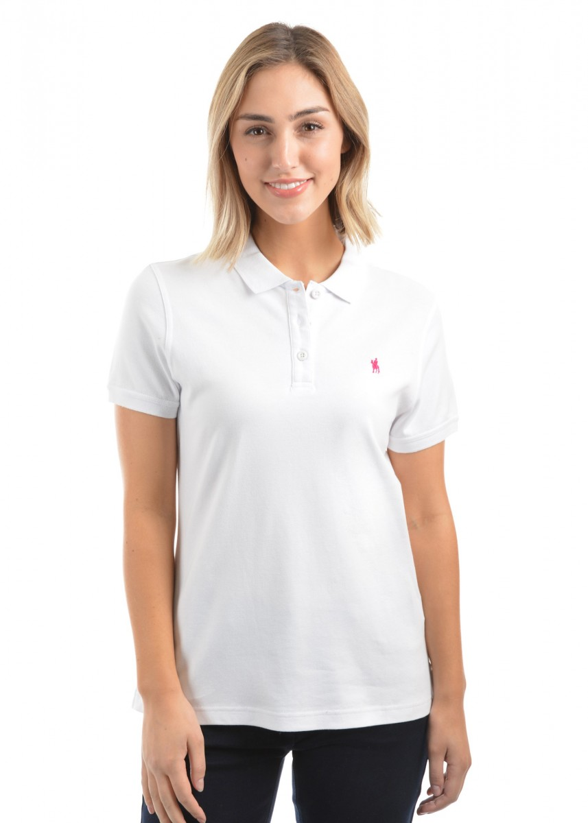 WOMENS CLASSIC STRETCH S/S POLO