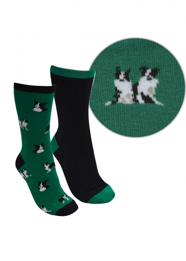 FARMYARD SOCKS - TWIN PACK