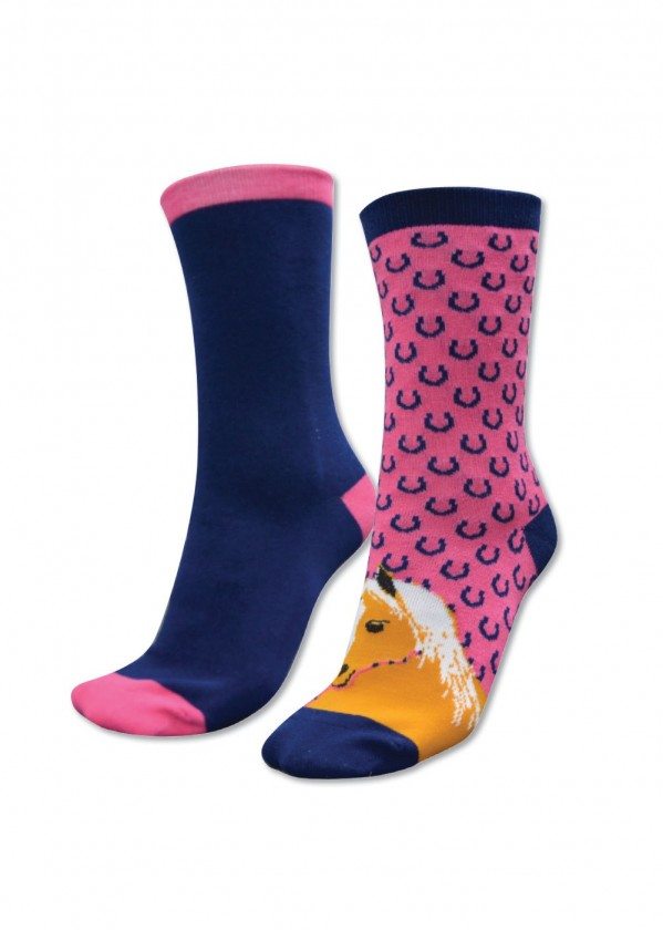 KIDS HOMESTEAD SOCKS - TWIN PACK