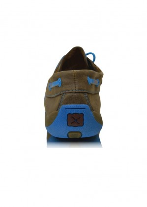 WOMENS CASUAL DRIVING MOCS LOW