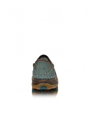 WOMENS CASUAL DRIVING MOCS SLIP ON