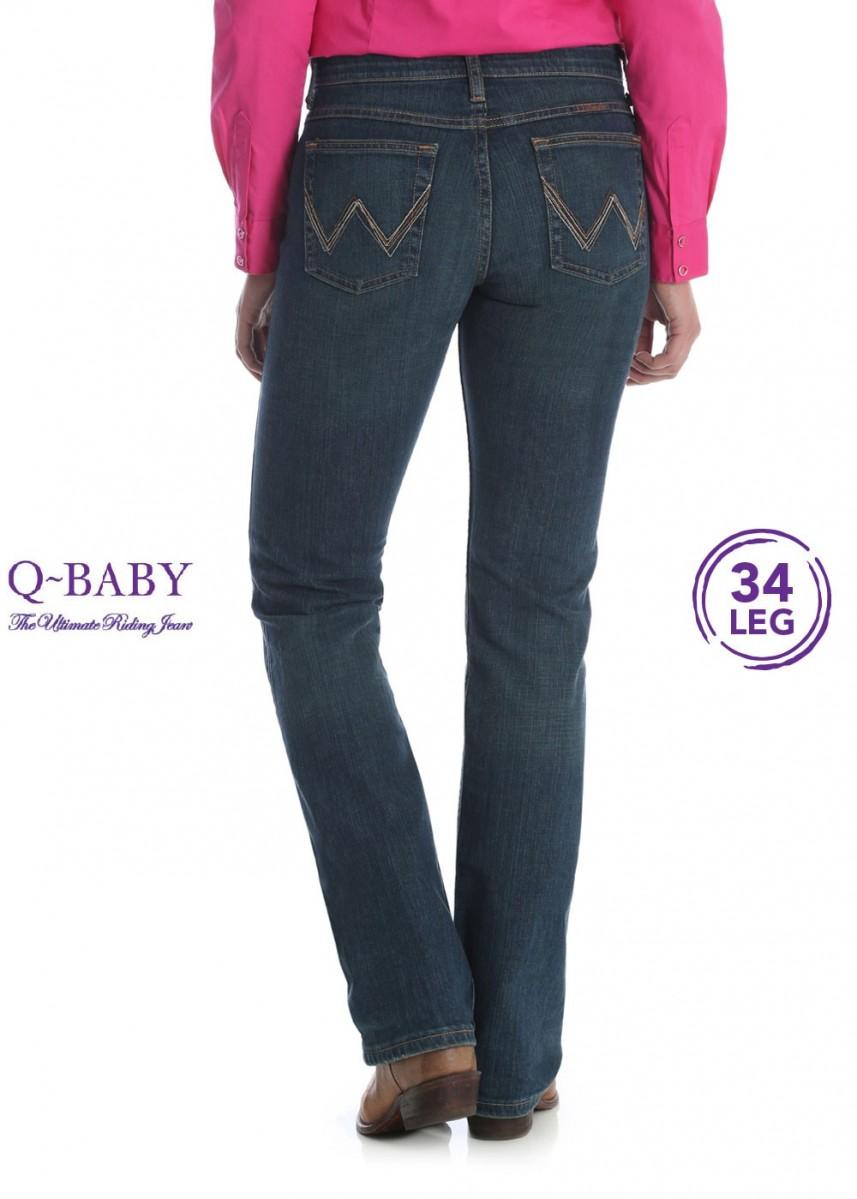 WOMENS ULTIMATE RIDING JEAN 34 LEG - Q BABY