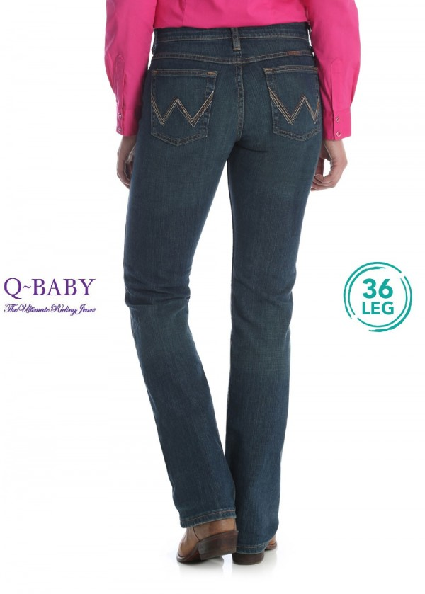 WOMENS ULTIMATE RIDING JEAN 36 LEG - Q BABY