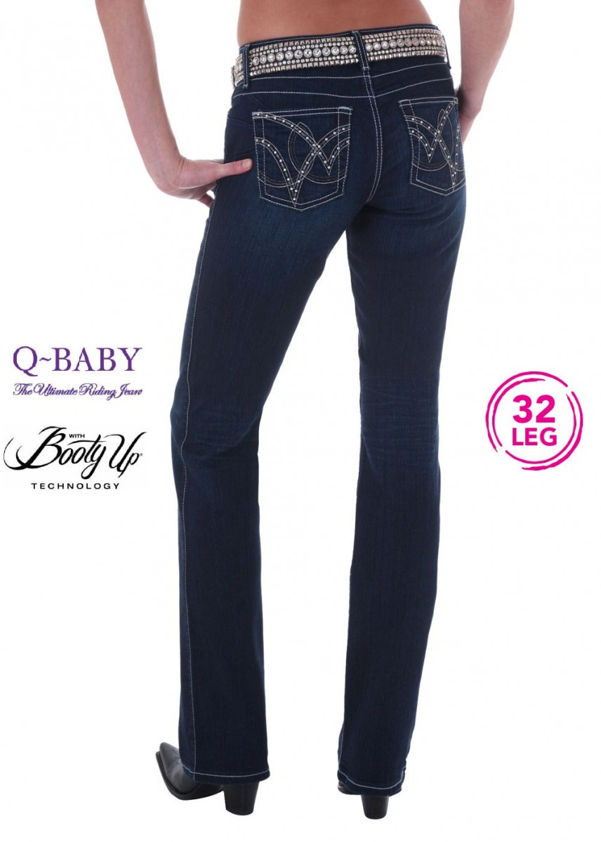 WOMENS ULTIMATE RIDING JEAN 32 LEG - QBABY B/UP