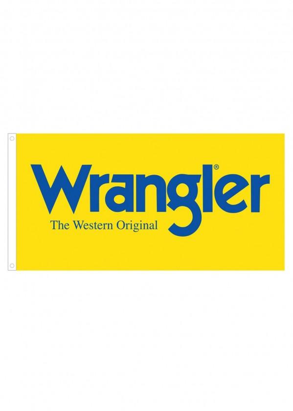 WRANGLER LOGO FLAG