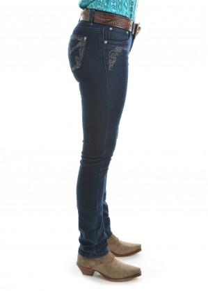 WOMENS DELILAH SKINNY JEAN - 32 LEG