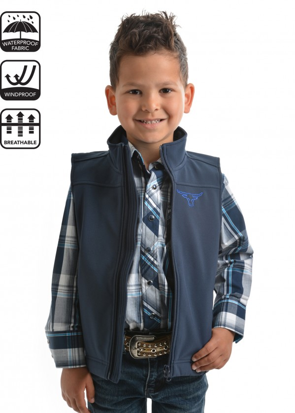 BOYS SOFT SHELL VEST