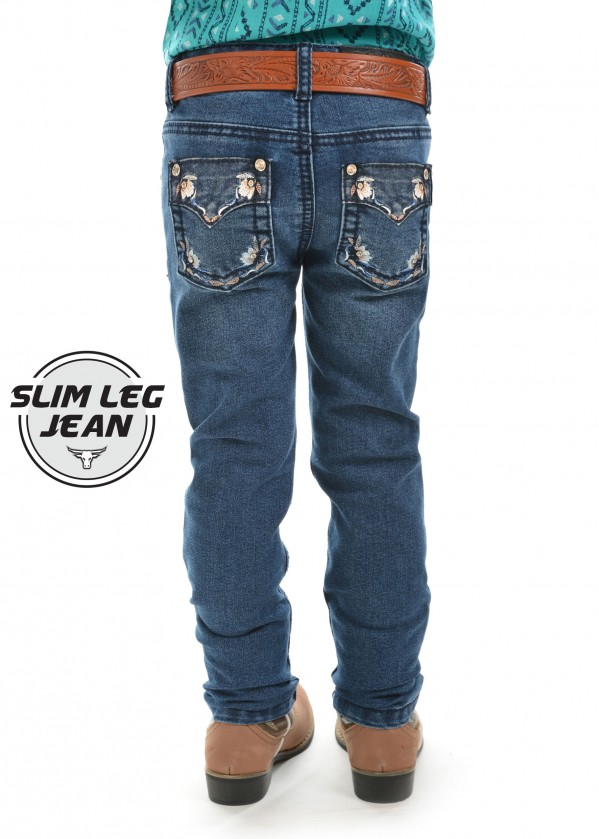 GIRLS TARA SLIM LEG JEAN
