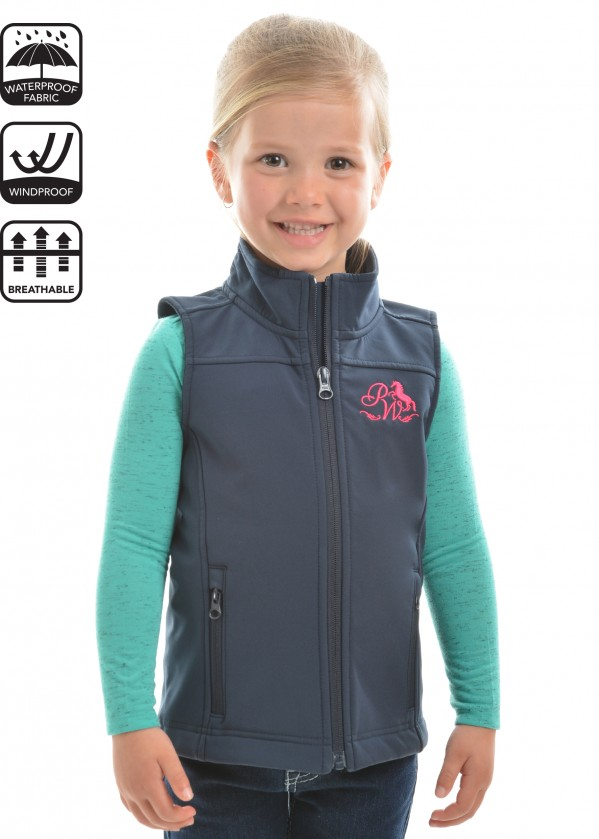 GIRLS SOFT SHELL VEST