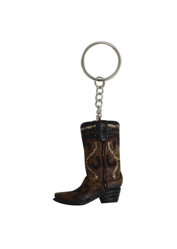 BOOT HORSESHOE KEY CHAIN